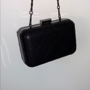 FREE W/PURCHASE $45+ // Quilted Black Clutch